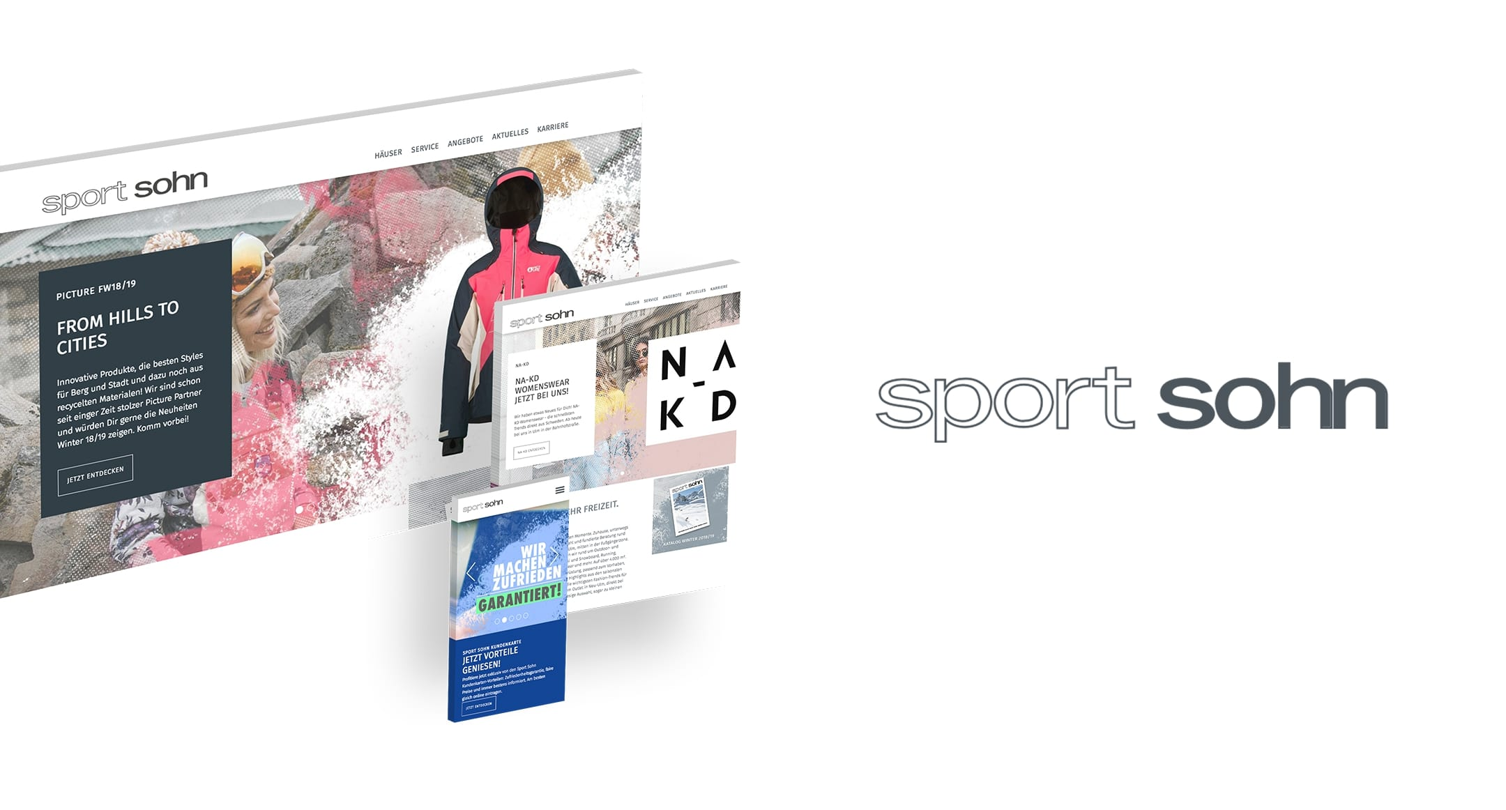 Referenz Sport Sohn Relaunch Webseite | rrooaarr